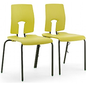 SE Ergonomic Linking Classroom Chairs £0 - Education Furniture