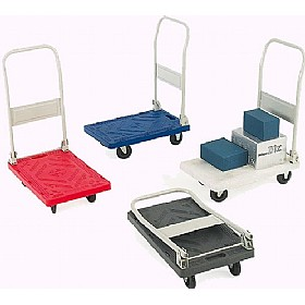 Mini Plastic Platform Trolley £49 - Premises Management