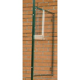Single Side Panel for Wall Mounted Smoking Shelter £308 - Premises Management