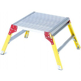Aluminium Platform Step £144 - Premises Management