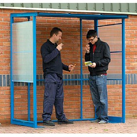 Compact Smoking Shelter £1013 - Premises Management