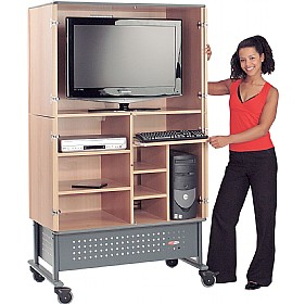 Secure 240 LCD/IT TV Cabinet £789 - Display/Presentation