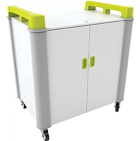 LapCabby Connect 20V - 20 Vertical Laptop Store and Charging Trolley £1625 - Office Cupboards
