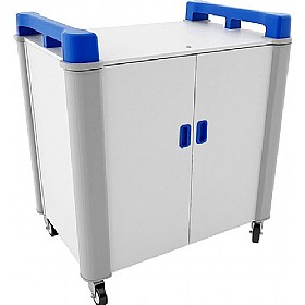 LapCabby Connect 16V - 16 Vertical Laptop Store and Charging Trolley £1497 - Office Cupboards