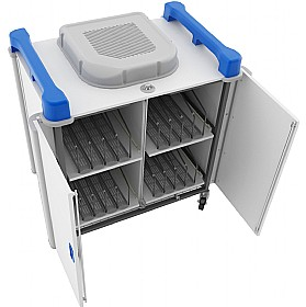 LapCabby Up-Link - Vertical Laptop Store and Charging Trolleys £2569 - Office Cupboards
