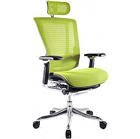 Nefil Ergonomic Mesh Office Chair (With Headrest) £477 - Office Chairs