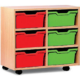 6 Cubby Tray Storage £0 - Education Furniture