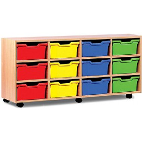 12 Cubby Tray Storage £0 - Education Furniture