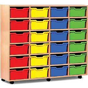 24 Cubby Tray Storage £0 - Education Furniture
