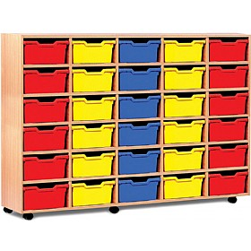 30 Cubby Tray Storage £366 - Education Furniture