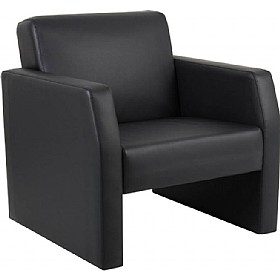 Rest Enviro Leather Armchair £200 - Reception Furniture