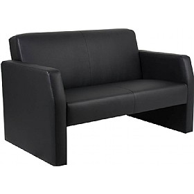Rest Enviro Leather 2 Seat Sofa £309 - Reception Furniture