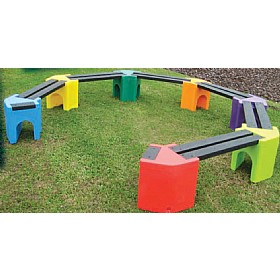 Learning Curve Seats Earth Fixing Kits £162 - Education Furniture