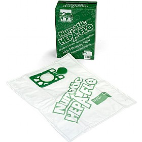 Harry Vacuum Cleaner Bags - Numatic Hepaflo Dust Bags NVM 604015 £7 - Premises Management