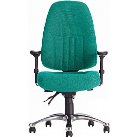 Panther II 24 Hour Fabric Manager Chair £259 - Office Chairs
