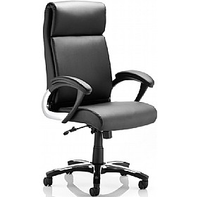 Capulet Executive Enviro Leather Faced Managers Chair £169 - Office Chairs