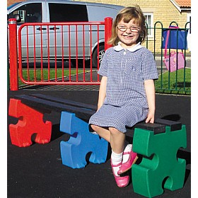 Outdoor Jigsaw Benches £0 - Education Furniture