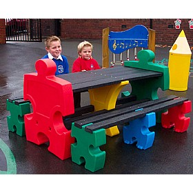 Outdoor Jigsaw Table & Bench Sets £0 - Education Furniture