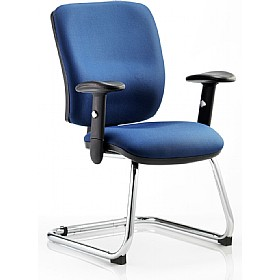Vital Fabric Cantilever Chair £168 - Office Chairs