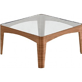 Sven Friday Square Glass Coffee Table £624 - Reception Furniture