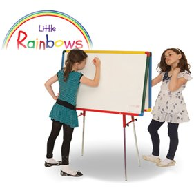 Little Rainbows Twin Whiteboard Junior Easel £109 - Display/Presentation