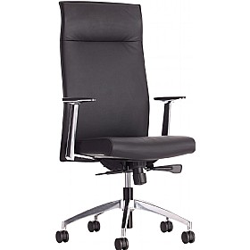 Waterloo Leather Faced Executive Chair £296 - Office Chairs