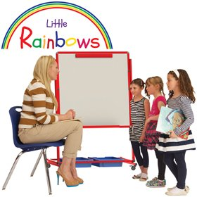Little Rainbows Mobile Magnetic Display/Storage Easel £143 - Display/Presentation
