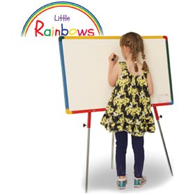 Little Rainbows Single Sided Whiteboard Easel £95 - Display/Presentation
