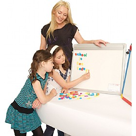 Little Rainbows Magnetic Whiteboard Desktop Easel £68 - Display/Presentation