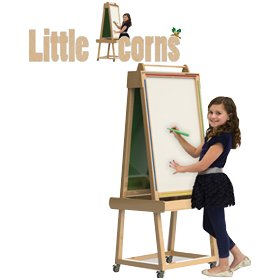 Little Acorns Solid Wood Play 'N' Learn Whiteboard/Chalkboard £270 - Display/Presentation