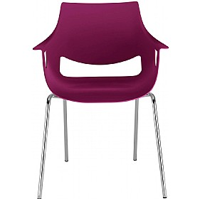Fano Designer Stacking Chairs £76 - Bistro Furniture