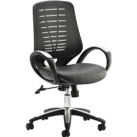 Flexion Leather & Mesh Office Chair