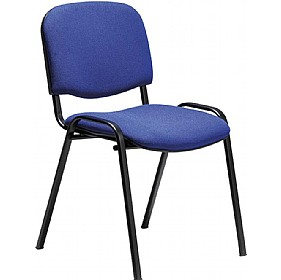 Swift Black Frame Conference Chairs (4 Pack) £22.25 - Office Chairs