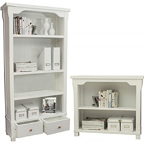 Canterbury Solid Ash Bookcases £193 - Bookcases