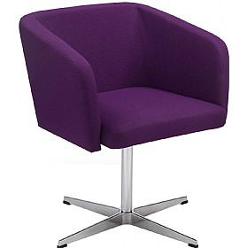 Hello Cross Base Reception Chairs £265 - Reception Furniture
