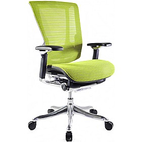 Nefil Ergonomic Mesh Office Chair (Without Headrest) £516 - Office Chairs