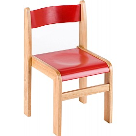 Primary Wooden Stacking Chairs (Pack of 2) £34 - Education Furniture