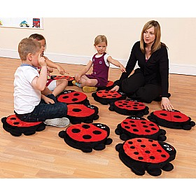 Counting Ladybird Story Cushions £0 - Education Furniture