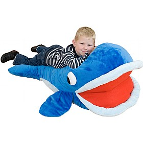 Under The Sea Shamu Whale Floor Cushion £0 - Education Furniture