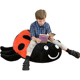 Back To Nature Lucy Ladybird Floor Cushion £65 - Education Furniture