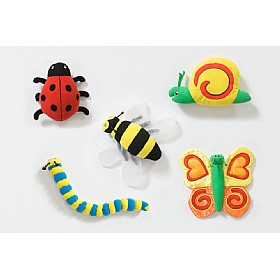 Back To Nature Bug Characters (Pack of 5) £0 - Education Furniture