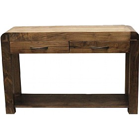 Hampshire Solid Walnut Console Table £341 - Home Office Furniture