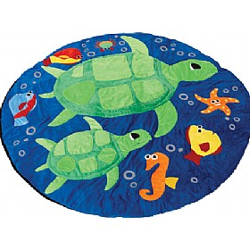 Under The Sea Turtles Giant Snuggle Mat £81 - Education Furniture
