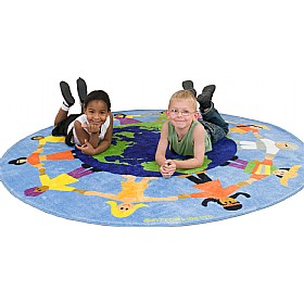World Multicultural Carpet £0 - Education Furniture
