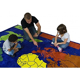 World Explorer Carpet £147 - Education Furniture