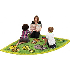 Town & Country Zoo Animals Corner Carpet £139 - Education Furniture