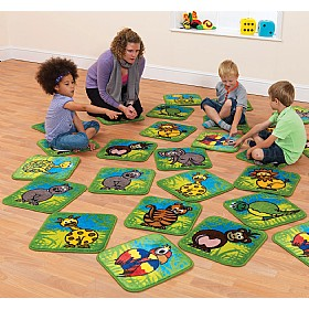 Town & Country Zoo Animals Mini Carpets £146 - Education Furniture