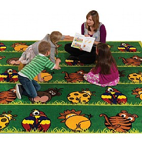 Town & Country Zoo Animals Carpet £259 - Education Furniture