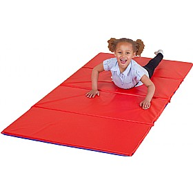 4 Section Folding Tumble Mat (Pack Of 5) £123 - Education Furniture