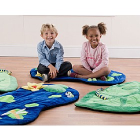 Back To Nature Snuggle Mats (Pack of 4) £86 - Education Furniture
